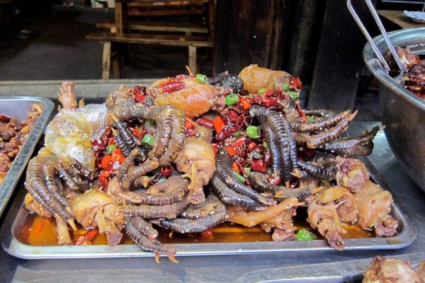 Garküche an der Kuanzhai Ancient Street Chengdu