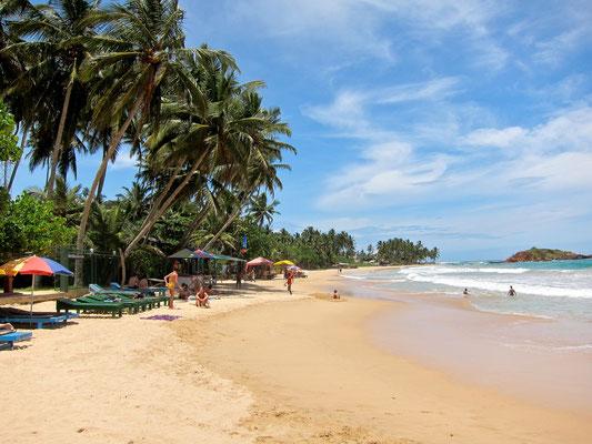 Traumstrand Mirissa Beach, Sri Lanka
