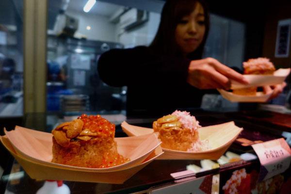 Tokio Tsukiji Markt kulinarische Gassen