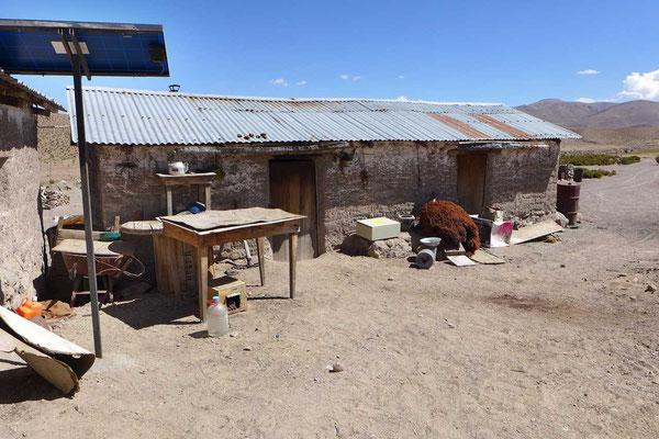 Hirtenunterkunft im Altiplano