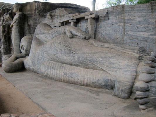 Gal-Vihara-Figuren Polonnaruwa Sri Lanka