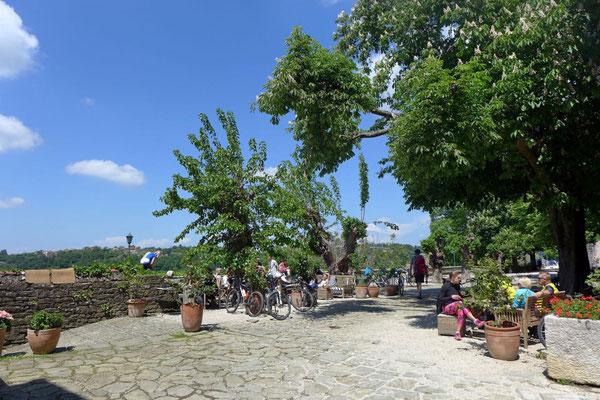 Grožnjan Zwischenstopp auf der Parenzana