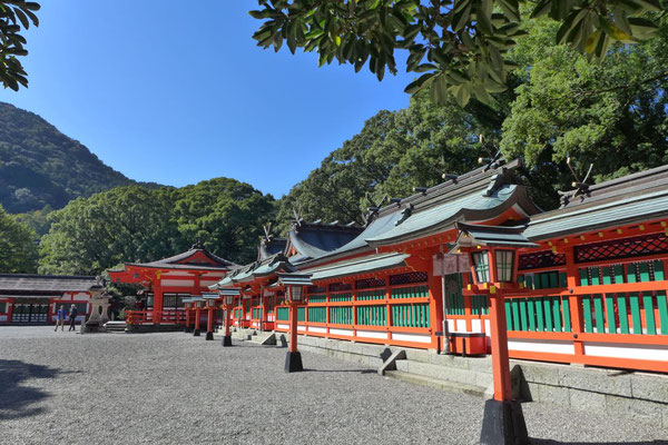 Hauptschrein Kumano Hayatama Taisha in Shingu