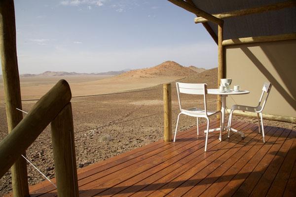 Aussicht vom Kanaan Desert Retreat Namibia