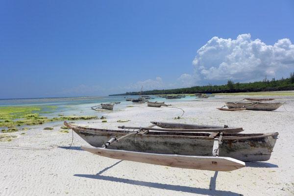 Strand nördlich von Matemwe, Ausgang unserer Schnorcheltour