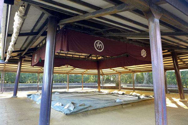 Sumo Ring im Budo Sportzentrum Kyoto