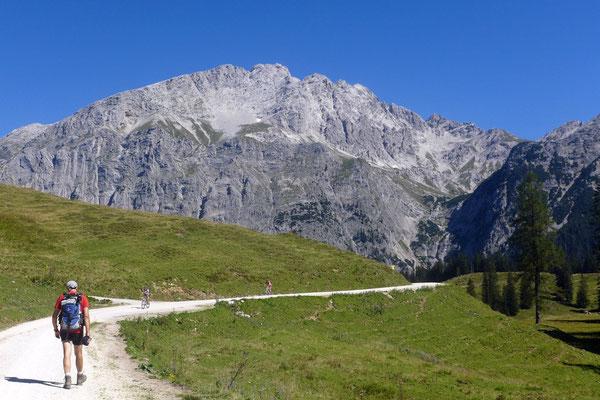 Auf dem Weg zum Seehorn