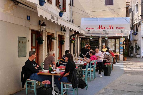 Restaurant Mani in Umags Altstadtgassen