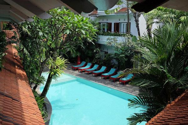 Pool im Tugu Malang