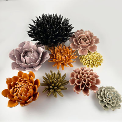 Chihuly ceramic flowers im Shop