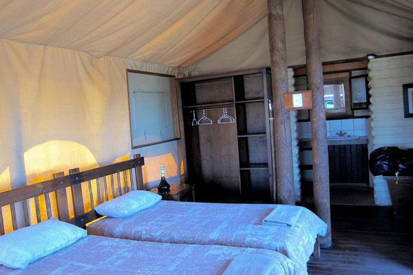 Kalahari Tented Camp Chalet, Kgalagadi Transfrontier Park