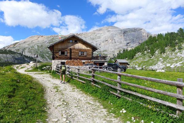 GranFanes Hütte Dolomiten
