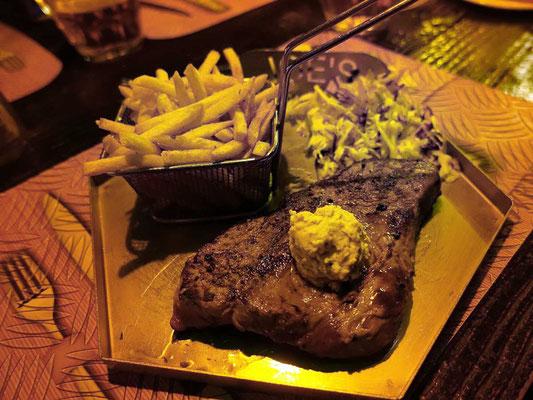 Kudu Steak Joe's Beerhouse Windhoek