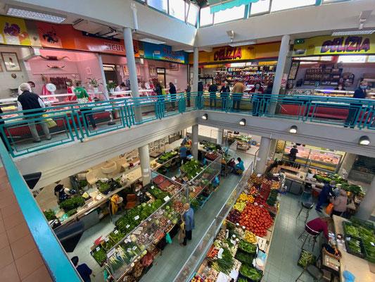 Markthalle von Labin