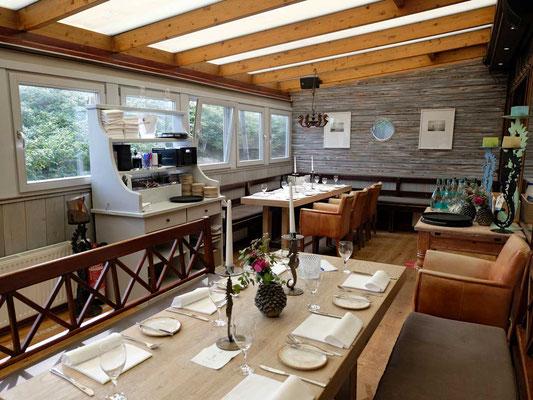 Samoa Seepferdchen Restaurant Ambiente
