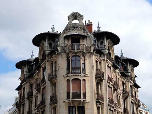 Dijon Art-Nouveau-Wohnhaus
