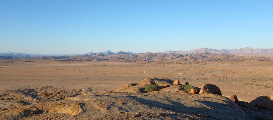 Nördlicher Blick von der Blutkuppe, Namibia