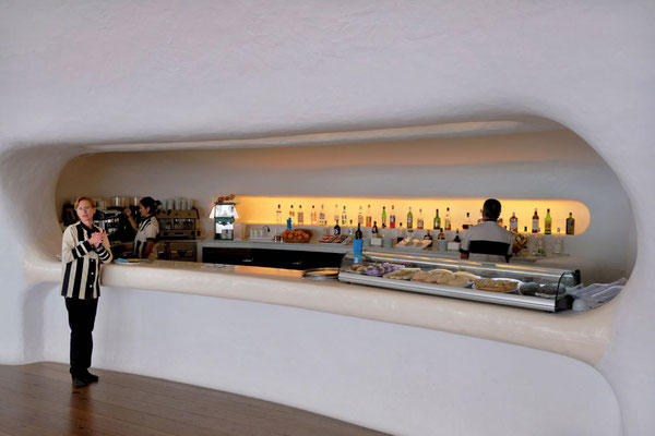Bar von César Manrique im Mirador del Río Lanzarote