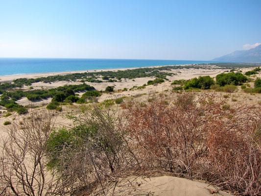 PATARA Strand, Lykische Küste Türkei