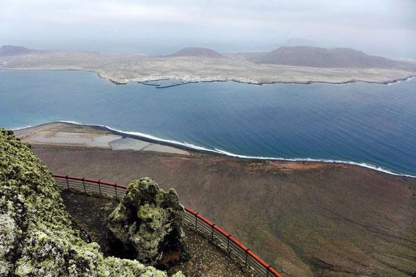 Aussichtspunkt auf die Insel La Graciosa, Mirador del Río Lanzarote