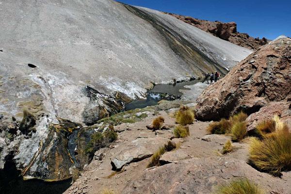 Rio Blanco Flusstal Wanderung, Atacama