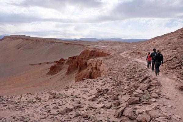 Wanderung im Valle de la Luna