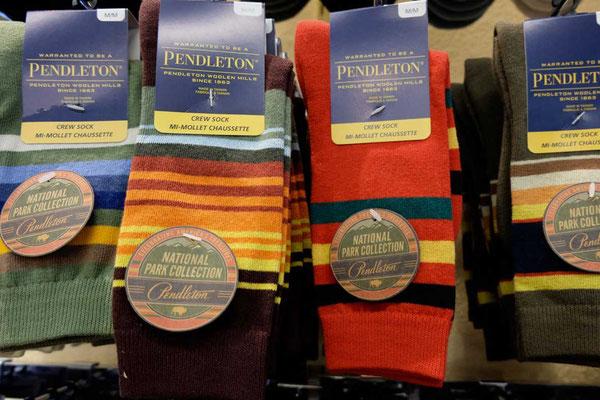 Im Pendleton Wollen Mill Store