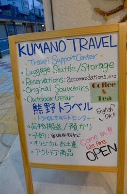 Kumano Kodo Travel Büro in Tanabe