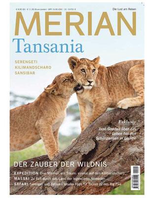 MERIAN Heft Tansania