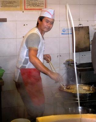 Nudelwerfer, Suppenküche Jinli Food street