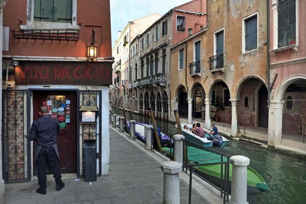VINI DA GIGIO Trattoria in Cannaregio, Venedig