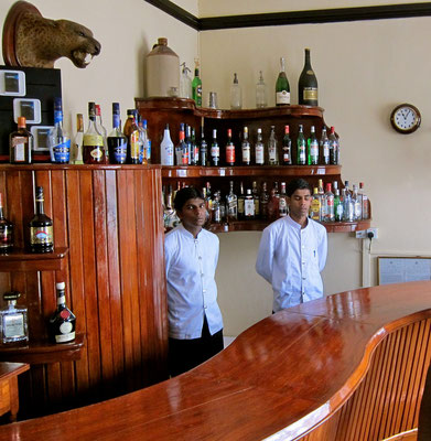 Mixed Bar im The Hill Club, Nuwara Eliya Sri Lanka