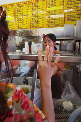 Dim Sum, Good Mong Kok Bakery, Chinatown San Francisco