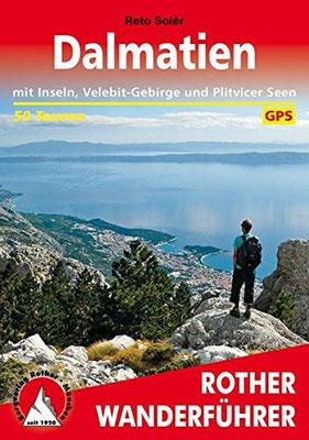 Rother Wanderführer Kroatien Dalmatien