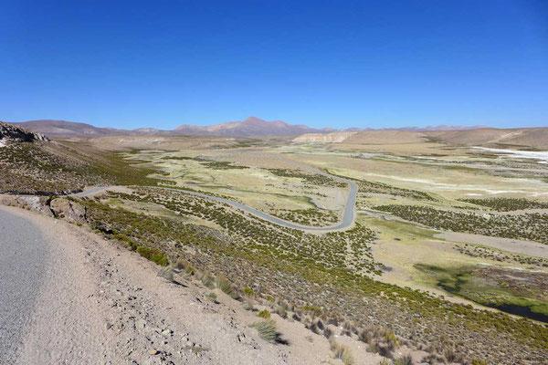 Große Weite des Reserva Nacional Las Vicuñas