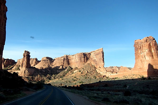 Scenic Road Arches National Park
