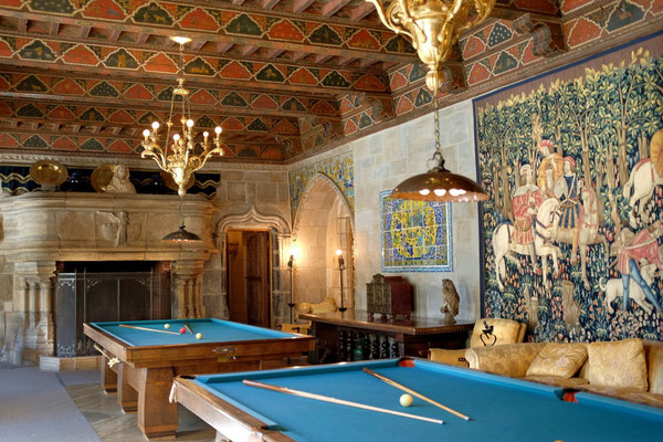 Hearst Castle Billard-Room