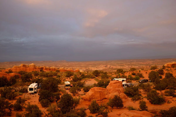 Devils Garden Campground, Arches National Park