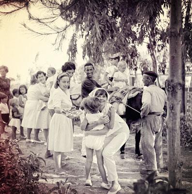Audrey Hepburn war mit ihren Kindern häufig zu Gast