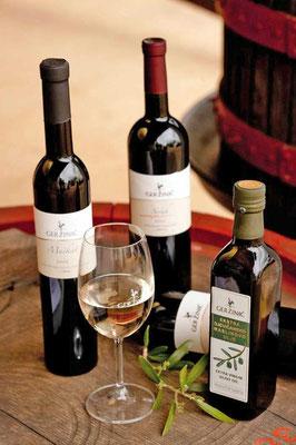 Geržinić Weine und Olivenöl in Vizinada, Istrien