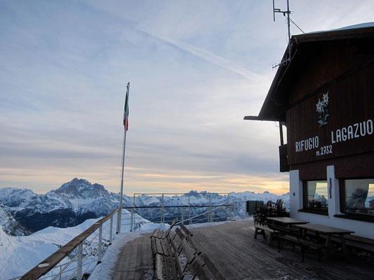 Hütte Rifugio Lagazuoi, Dolomiten Südtirol