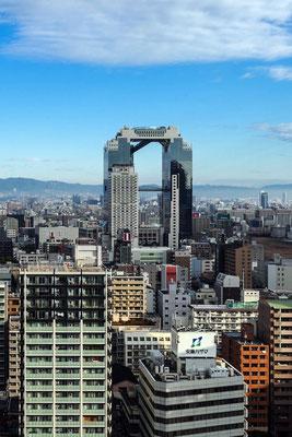 Lego-Look Umeda Sky Building Osaka