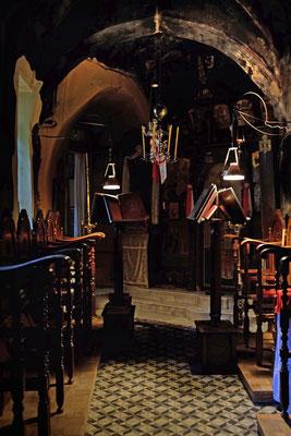 Kapelle im Kloster Prodromou