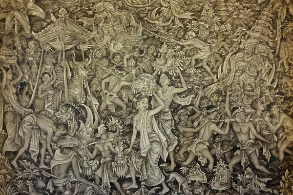 Malerie in Ubud