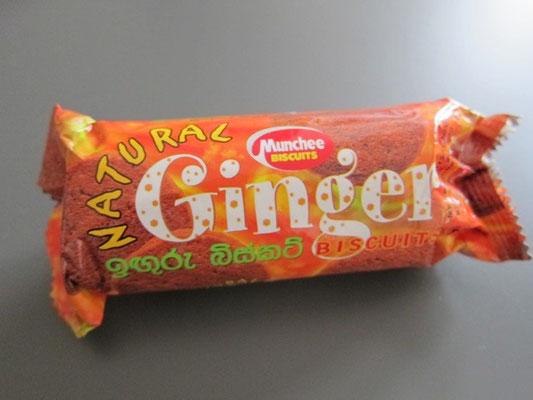 Ingwer Kekse aus Sri Lanka