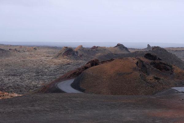 Bus Rundfahrt 'Ruta de los Volcanos' , Timanfaya Nationalpark Lanzarote
