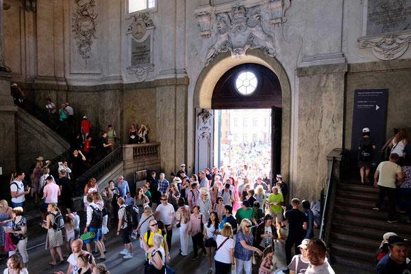Freie Schlossbesichtigung am Nationalfeiertag in Stockholm