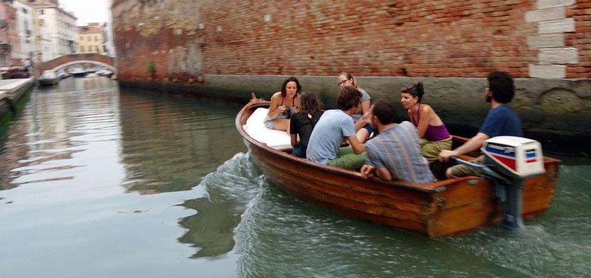 Bootsfahrt Canale Cannaregio Venedig