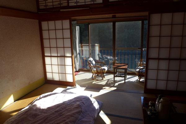Einfaches japanisches Zimmer im Kameya Ryokan  in Kawayu Onsen