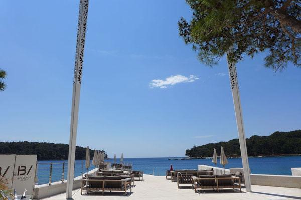 Relaxzone am Wasser – Hotel Bellevue Losinj